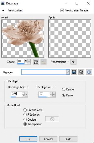 Decalage fleur 2