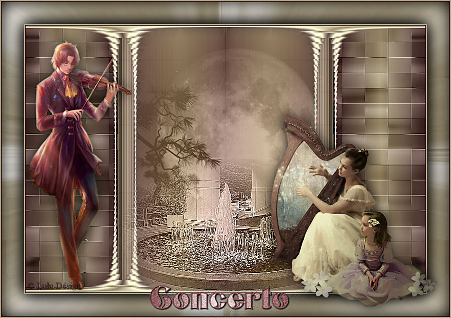 Concerto for Image miroir photoshop